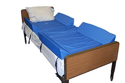 30-Degree Full Body Bed Support System w/4 Attached Bolsters