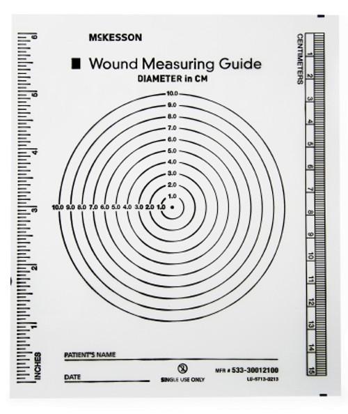 McKesson Brand McKesson Wound Measuring Guide