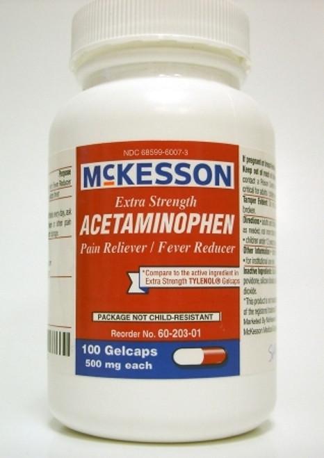 Acetaminophen Gelcaps