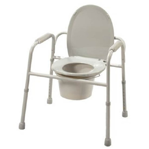 Patterson Medical Supply Deluxe All-In-One Commode