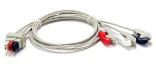 CareFusion Leadwire, 300-series, 3-lead, grab AHA 300 Series Cable