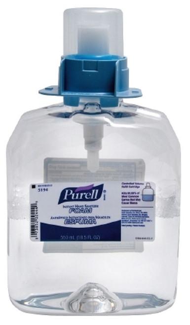 Hand Sanitizer Purell Alcohol (Ethyl) Foaming Dispenser
