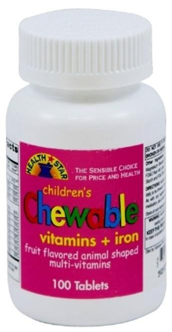 Geri-Care Health Star Children's Multivitamin