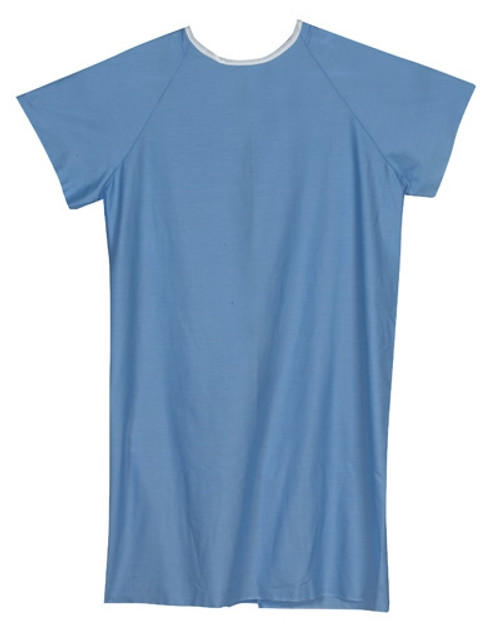 Convalescent Hospital Gown with Back Tie