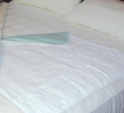"""Mabis Healthcare 36"""" x 40"""" Vinyl Reusable Bed Sheet"""