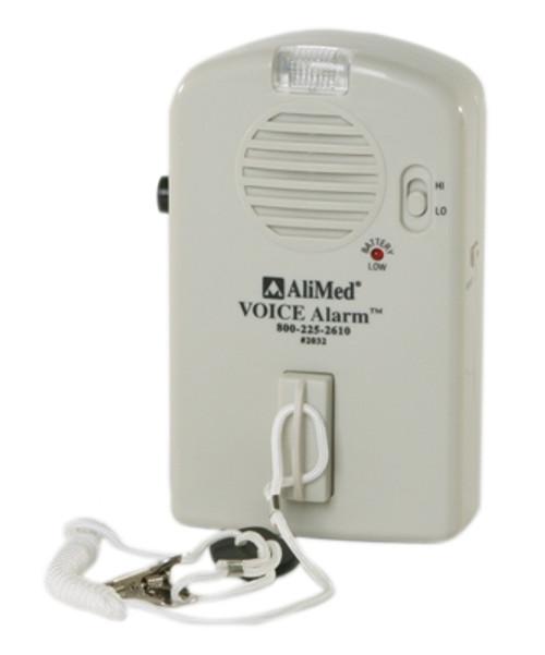 voice patient sensor alarm