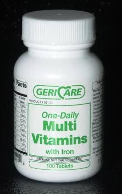 one-daily multi vitamins with iron