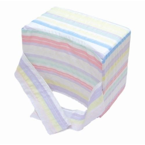 """dmi knee-ease pillow,multi-stripe, 6"""" x 10"""" x 8"""""""