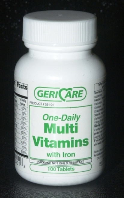One-Daily Multi Vitamins with Iron Tablets