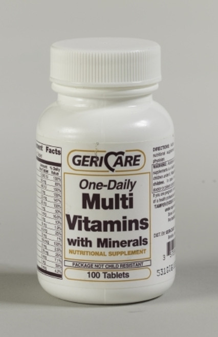 Multi Vitamins with Minerals Tablets