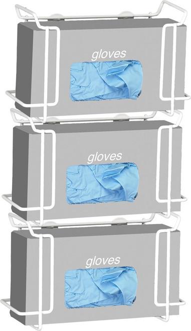 Triple Wire Glove Box Dispenser
