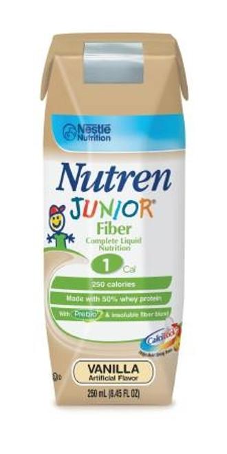 Nutren Junior with Fiber, Vanilla - 250 mL