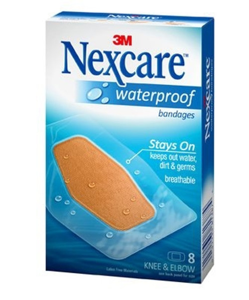 Adhesive Strip Nexcare Film Rectangle Clear Sterile