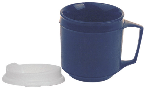 weighted mug nospill lid 12 oz.