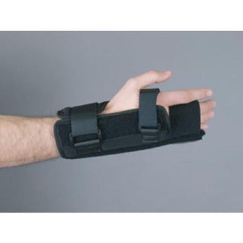 Wrist Splint EEDOM comfort Fabric / Foam Left Hand Black Small / Medium