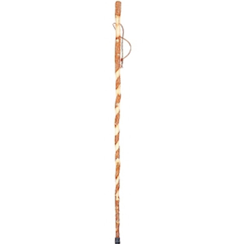 Brazos Twisted Sassafras Handcrafted Wood Trekking Pole