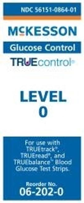 McKesson TRUEcontrol Glucose Control Solution - Level 0