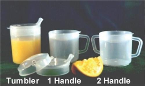 Tumbler PSC 8 oz. Clear Plastic