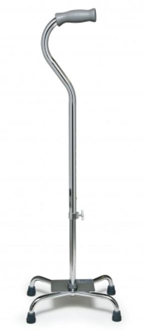 Silver Collection Low Profile Quad Cane - Standard Grip