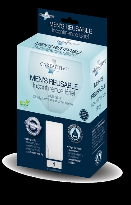 Mens Reusable Incontinence Brief