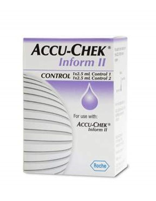Accu-Chek Inform II Control Solutions