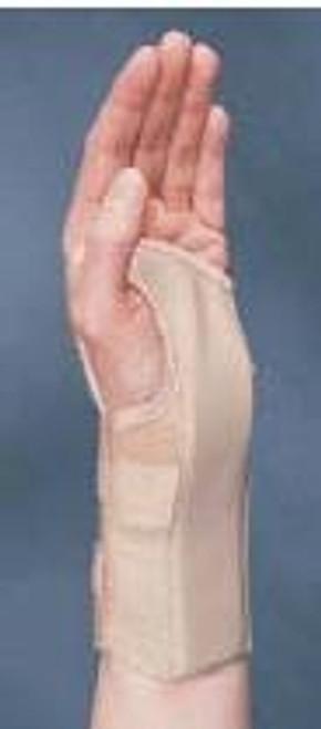 Wrist Brace azer Removable Palmar Stay Cotton Elastic Right Hand Black