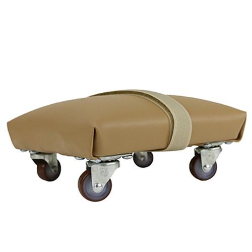 exercise skate foam padded and upholstered