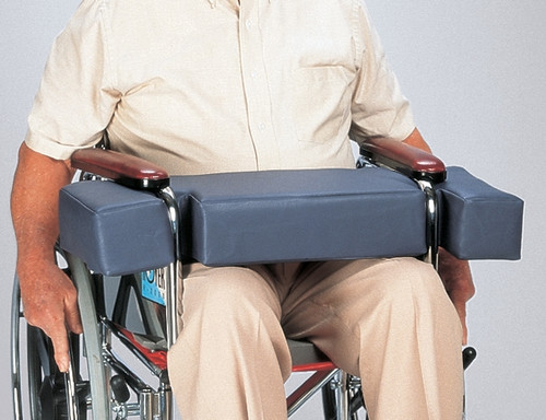 Posey Lap Hugger for Full Arm Wheelchairs - Mauve