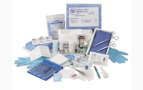 Medical Action Industries Sharp Debridement Procedure Tray