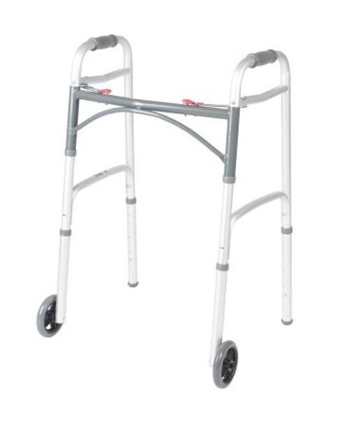 mckesson adult aluminum folding walker