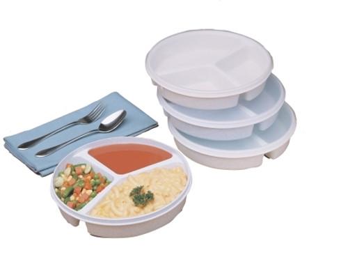 Fabrication Enterprises Partitioned Scoop Dish