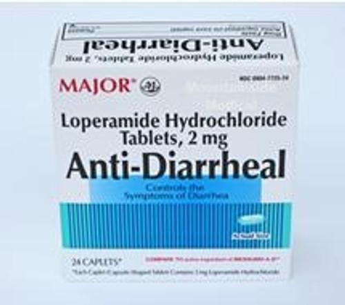 Anti-Diarrheal 2 mg Strength Caplet
