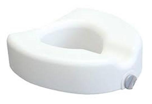 Lumex Locking Raised Toilet Seat