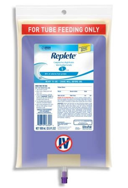 Tube Feeding Vanilla, Replete - 1000 mL