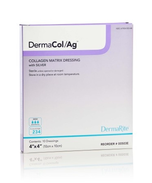 DermaCol/Ag Wound Dressing