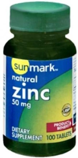 sunmark Zinc Tablets