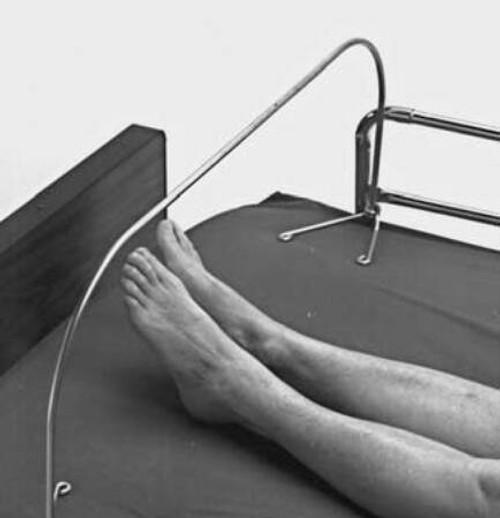 "Bed Cradle Foot Frame, 36""x 21.5"""