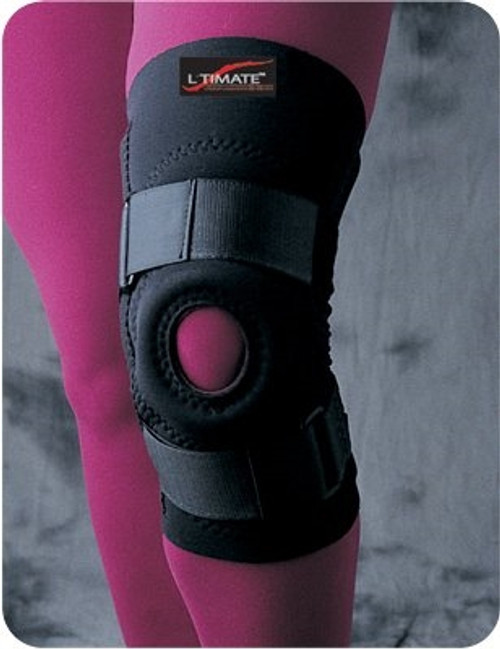 Knee Support Extensor Loop Lock Closure Circumference Length Left or Right Knee