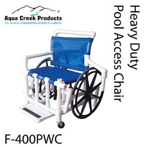 pool access chair 24 mesh seat 425 lb capacity