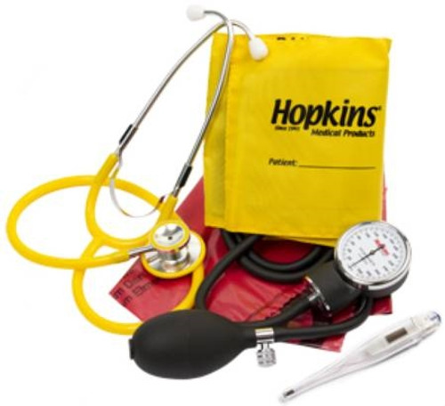 Hopkins Medical Products ISO Vital Signs Kit Aneroid Sphygmomanometer / Stethoscope Combo