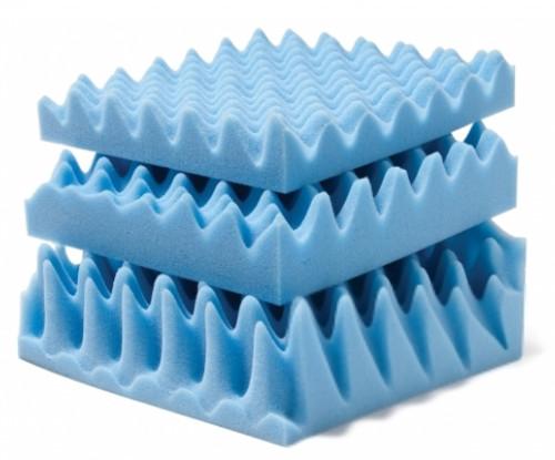 """Lumex Convoluted Foam Mattress Pads 2"""""""