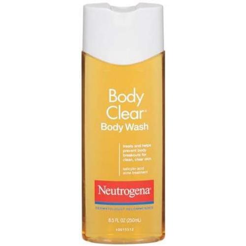 Acne Body Wash Neutrogena Body Clear