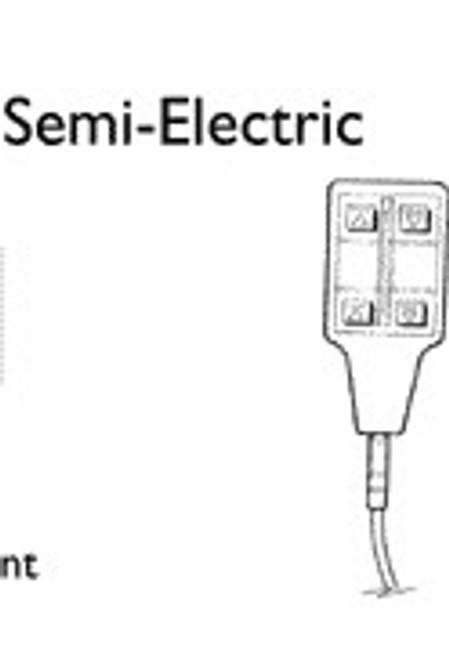 Invacare Semi-Electric Bed Pendant