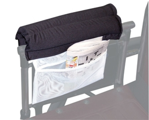 Armrest Wheelchair Cushion with Storage Pouch