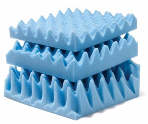 """Lumex Convoluted Foam Mattress Pads 3"""""""