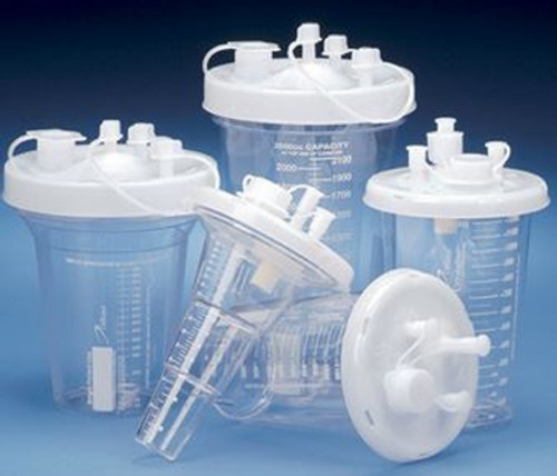 DeRoyal Crystaline Suction Canister