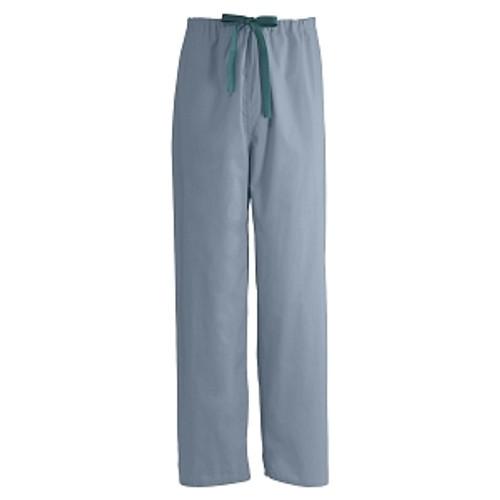 Encore Unisex Reversible Drawstring Scrub Pants, Misty Green
