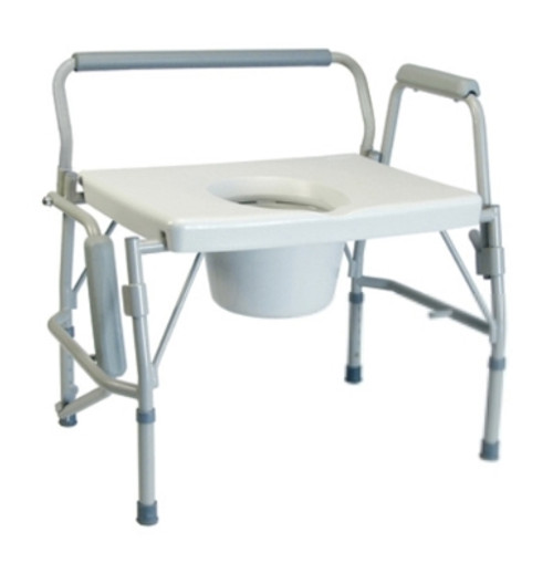 Imperial Collection Three-In-One Drop Arm Commode
