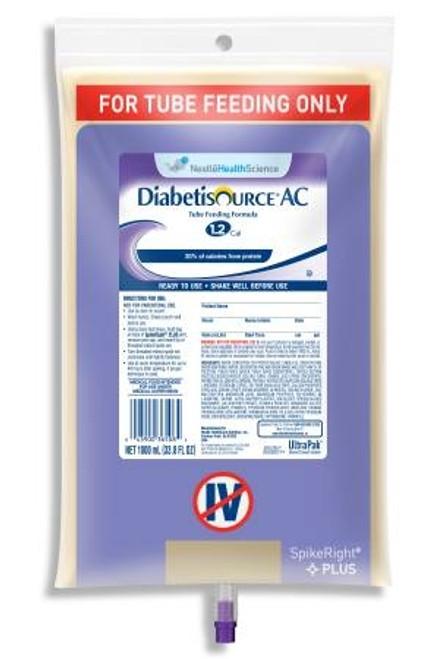 Tube Feeding Unflavored, Diabetisource AC - 1000 mL