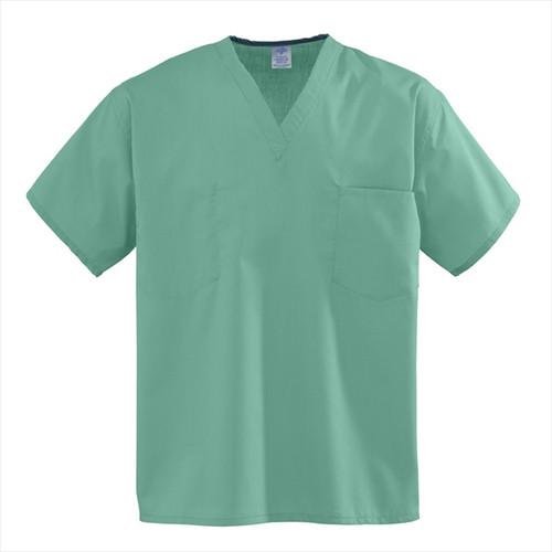 Premier Cloth Set-In Sleeve Scrub Top - Jade Green
